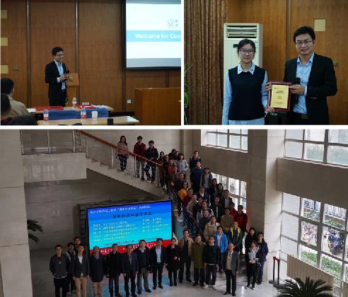 李博士受邀回母校,作青年学者论坛创新创业经验交流会分享报告